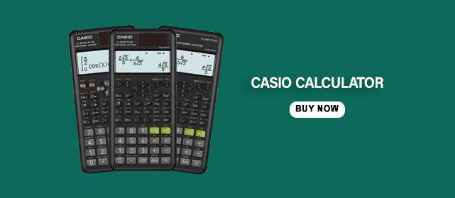 calculator stationery